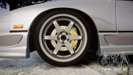 Nissan 240SX SE S13 1993 para GTA 4 vista de volta