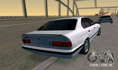 BMW 525 Turbo para GTA San Andreas esquerda vista