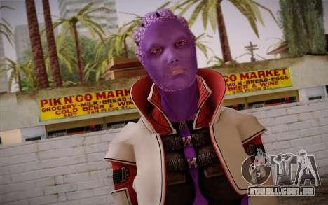 Halia from Mass Effect 2 para GTA San Andreas terceira tela