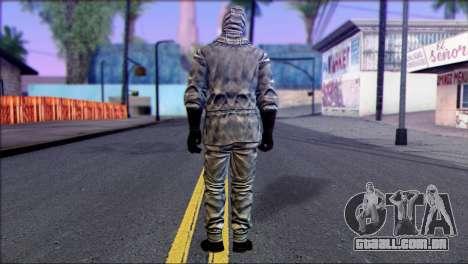Outlast Skin 5 para GTA San Andreas segunda tela