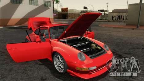 Porsche 911 GT2 (993) 1995 [HQLM] para GTA San Andreas vista traseira
