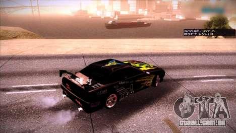 Just ENB para GTA San Andreas segunda tela