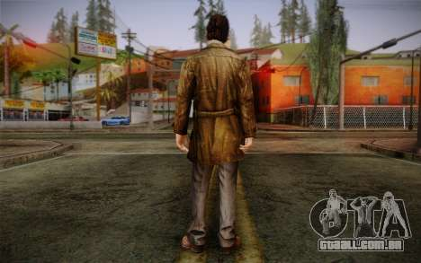 Harry Mason From SH: Shattered Memories para GTA San Andreas segunda tela