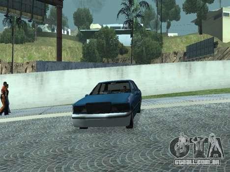 Beta Elegant para GTA San Andreas vista traseira