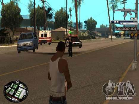 CLEO HUD Spiceman para GTA San Andreas segunda tela