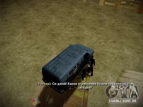 Sistema de roubos v4.0 para GTA San Andreas oitavo tela