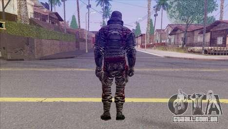 Outlast Skin 6 para GTA San Andreas segunda tela