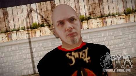 Phil Anselmo Skin para GTA San Andreas terceira tela