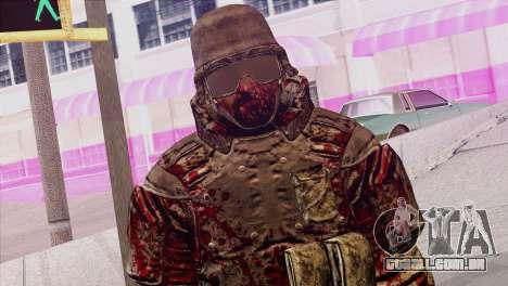 Outlast Skin 6 para GTA San Andreas terceira tela