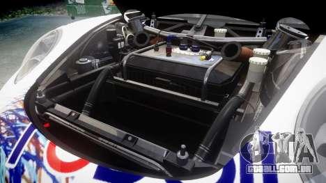 RUF RGT-8 GT3 [RIV] RobOil para GTA 4 vista interior