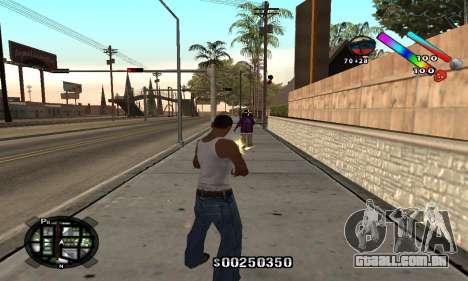 C-HUD Classic para GTA San Andreas segunda tela
