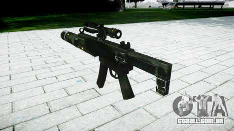 Tática submetralhadora MP5-alvo para GTA 4 segundo screenshot