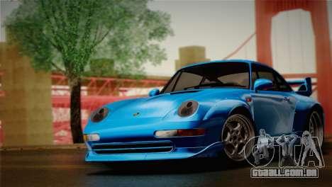 Porsche 911 GT2 (993) 1995 para GTA San Andreas traseira esquerda vista