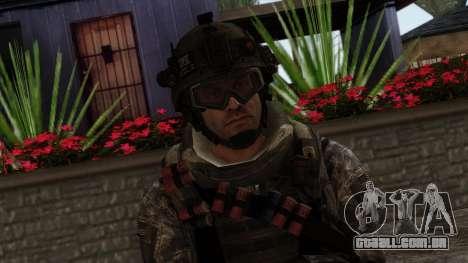 Modern Warfare 2 Skin 8 para GTA San Andreas terceira tela