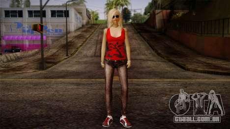 Gedimas Denise Skin HD para GTA San Andreas