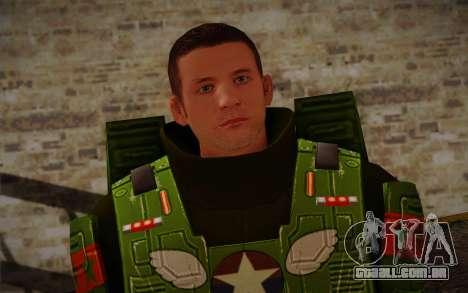 Space Ranger from GTA 5 v3 para GTA San Andreas terceira tela