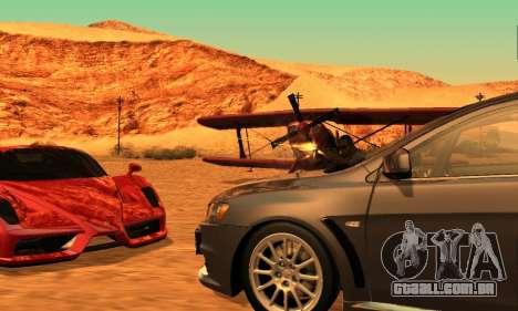 ENB Series para baixo PC 2.0 para GTA San Andreas por diante tela