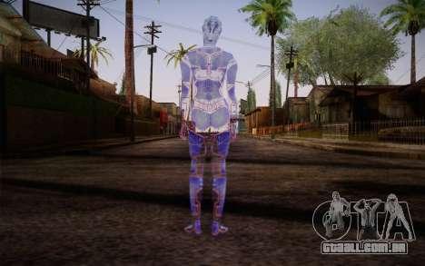 Avina from Mass Effect para GTA San Andreas segunda tela