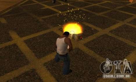 Yellow Effects para GTA San Andreas segunda tela