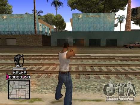 C-HUD by Kevka para GTA San Andreas terceira tela