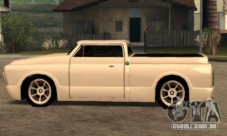Beta Slamvan para GTA San Andreas vista traseira