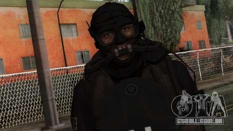 Modern Warfare 2 Skin 9 para GTA San Andreas terceira tela