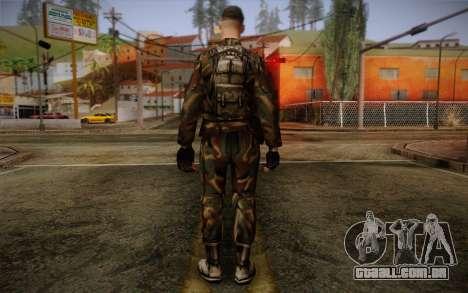 Soldier Skin 1 para GTA San Andreas segunda tela