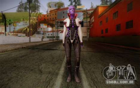 Halia from Mass Effect 2 para GTA San Andreas