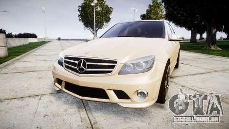 Mercedes-Benz C63 AMG 2010 para GTA 4