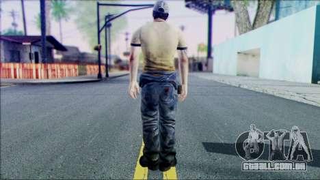 Left 4 Dead Survivor 6 para GTA San Andreas segunda tela