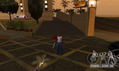 Yellow Effects para GTA San Andreas terceira tela