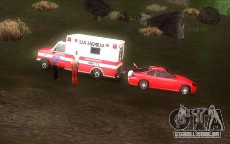 A revitalização da aldeia Dillimore para GTA San Andreas décima primeira imagem de tela