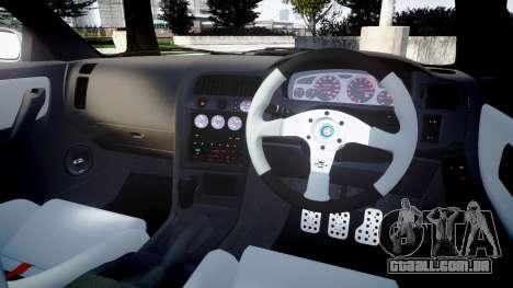 Nissan Skyline GT R33 1996 Sharpie para GTA 4 vista lateral