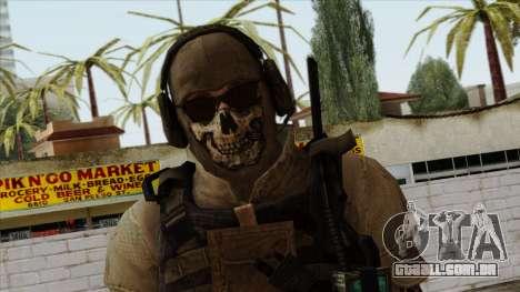 Modern Warfare 2 Skin 10 para GTA San Andreas terceira tela