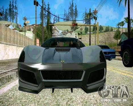 Super ENB fracas e médias PC para GTA San Andreas terceira tela