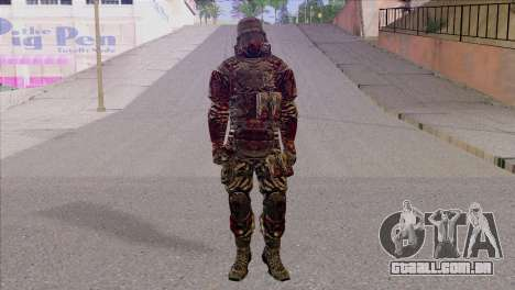 Outlast Skin 6 para GTA San Andreas
