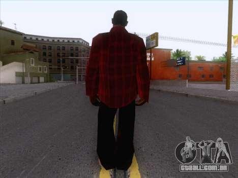 New Fam Skin 1 para GTA San Andreas segunda tela