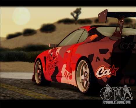 Toyota Supra Fail Crew para GTA San Andreas esquerda vista