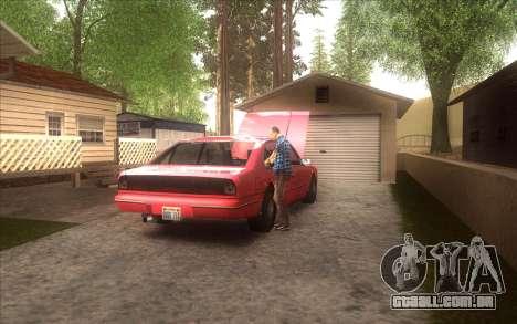 A revitalização da aldeia Dillimore para GTA San Andreas