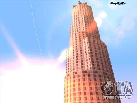 Sunset ENB para GTA San Andreas quinto tela