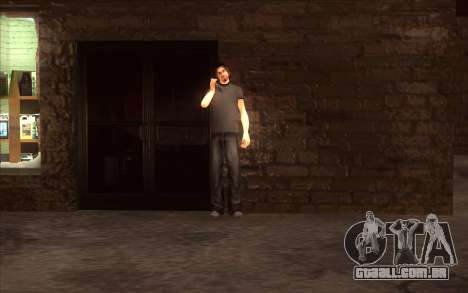 A revitalização da aldeia Dillimore para GTA San Andreas segunda tela