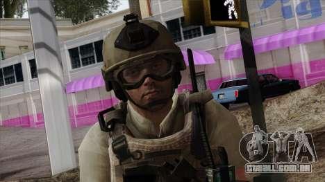Modern Warfare 2 Skin 19 para GTA San Andreas terceira tela