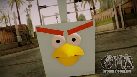 Ice Bird from Angry Birds para GTA San Andreas terceira tela