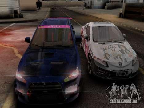 ENB Hans Realistic 1.0 para GTA San Andreas por diante tela