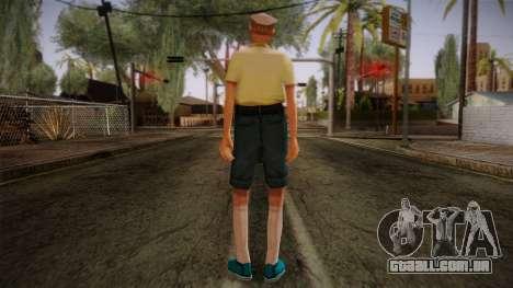 GTA San Andreas Beta Skin 17 para GTA San Andreas segunda tela