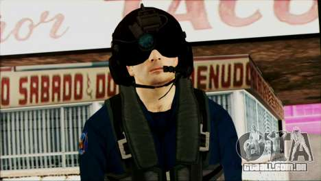 Chinese Pilot from Battlefiled 4 para GTA San Andreas terceira tela
