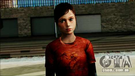 Ellie from The Last Of Us v1 para GTA San Andreas terceira tela