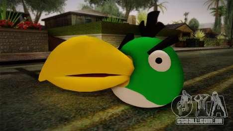 Green Bird from Angry Birds para GTA San Andreas