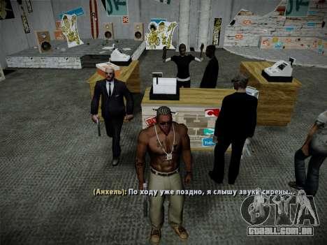Sistema de roubos v4.0 para GTA San Andreas décima primeira imagem de tela