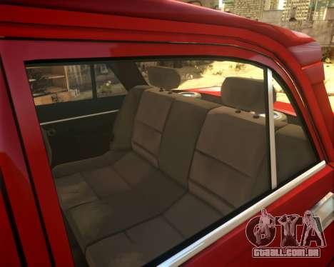 AZLK 2140 4x4 para GTA 4 vista interior